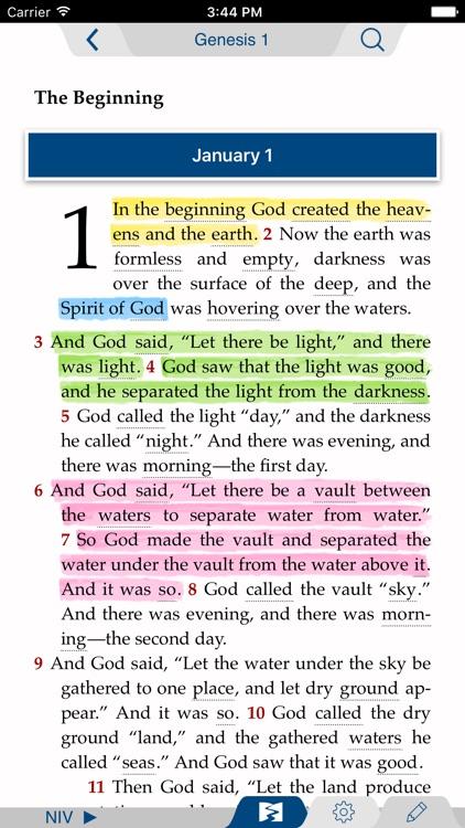 NIV Streams in the Desert Bible screenshot-4