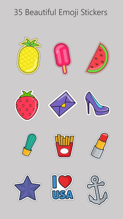 Summer Collection Sticker