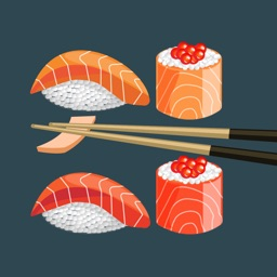 Sushi Foodie Stickers