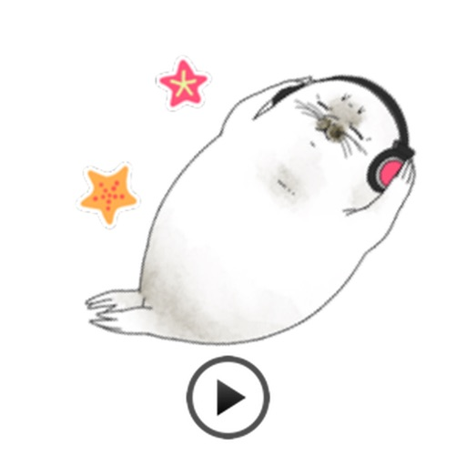 Animated Cute Seal Stickers