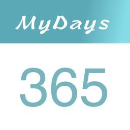 MyDays - Event Ticker Countdown days of life