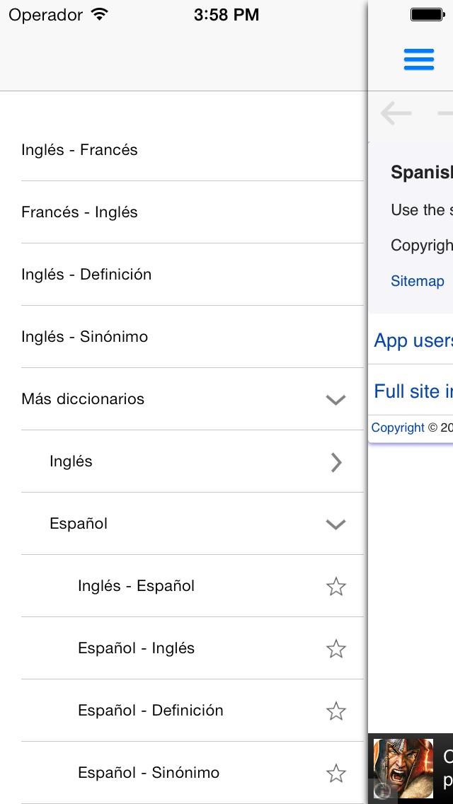 download Diccionario WordReference.com apps 3