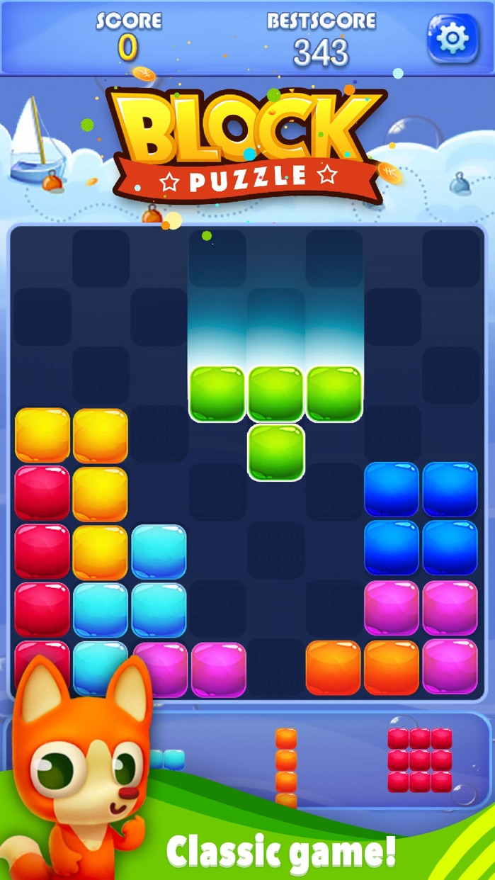 Candy Block Puzzle Blitz Screenshot