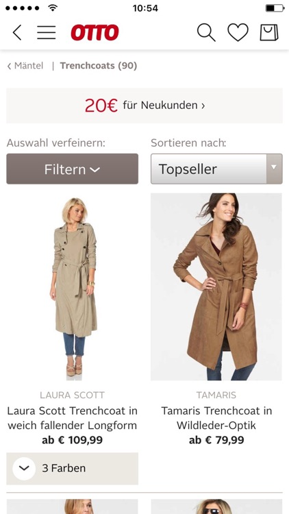 OTTO - Shopping für Mode, Wohnen & Technik screenshot-1