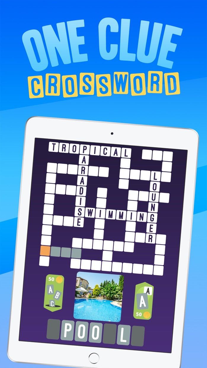 Crossword : One Clue Picture Crosswords Screenshot