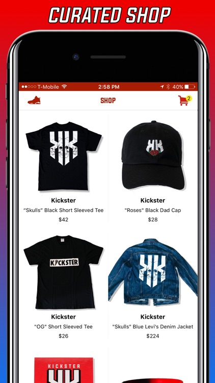 KICKSTER - Hype Culture Community, Shop & Releases