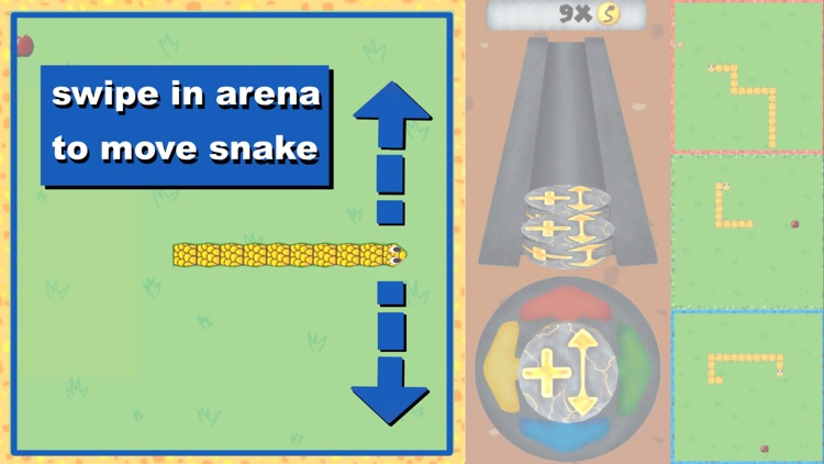 Battle Snake Game Slithering screenshot-3