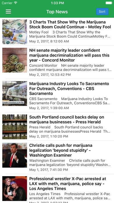 Marijuana Newsのおすすめ画像1