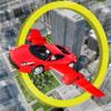 Erqem Habib Husaini - Fly Car in City artwork