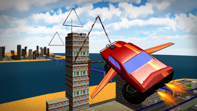 Flying Monster Truck Drive – 3D Lorry Simulator screenshot-3