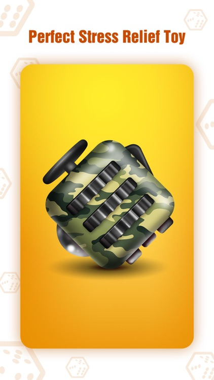 Fidget Cube - Glide, Flick & Spin Finger Simulator screenshot-3