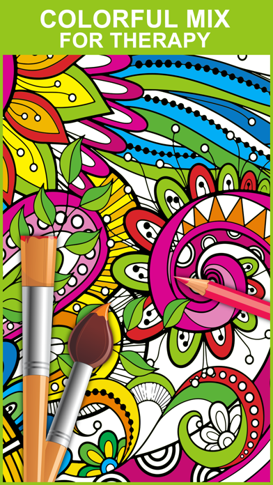Color Mix - Adult Coloring Books screenshot two