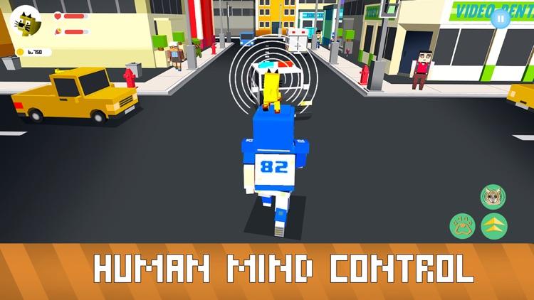 Blocky Cat Simulator screenshot-3