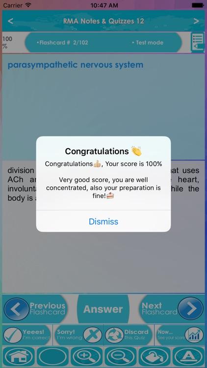 Registered Medical Assistant Exam Prep- 5200 Terms screenshot-4