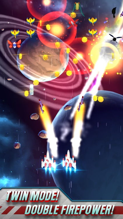 Galaga Wars screenshot-2
