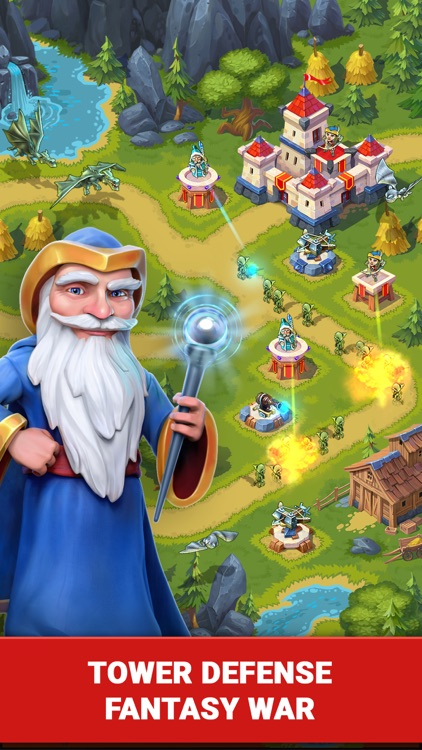 Toy Defense Fantasy - TD Strategy Game screenshot-0