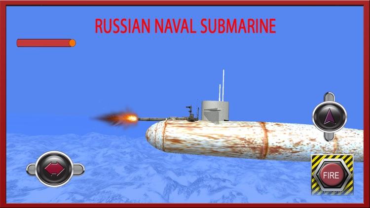 Russian Navy Submarine Fleet: Warship Simulator 3D screenshot-3