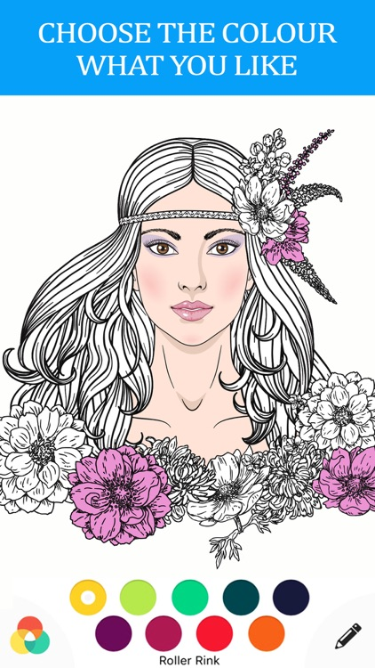 anti stress color therapy - adult coloring book