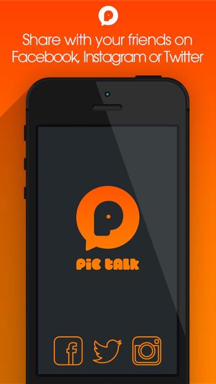 PicTalk+ Add Speech Text Caption Bubbles to Photos screenshot-4