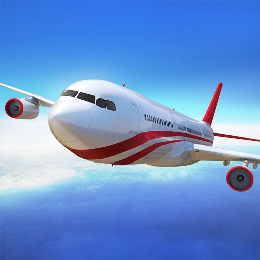 Полет Пилот - симулятор самолета игры 3D