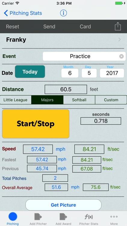 Pitching & Throwing Radar Gun Speed Clocker