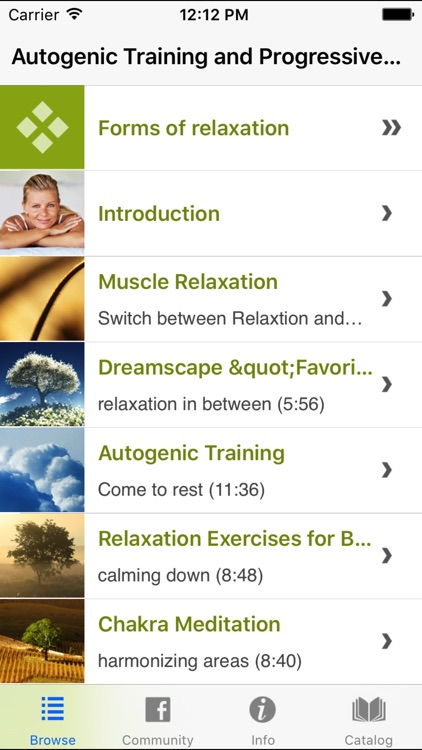 Autogenic Training Progressive Muscle Relaxation