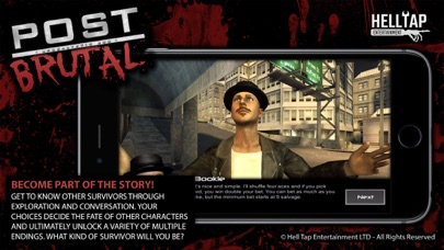Screenshot from Post Brutal: Apocalyptic Zombie Action RPG