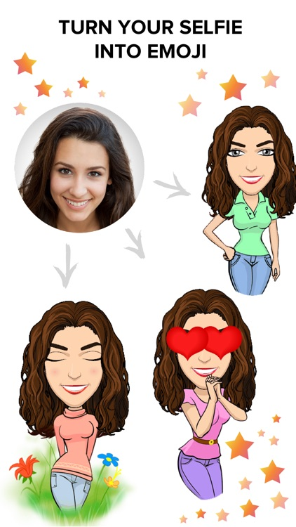 Ommy Stickers & Emoji Maker – Selfie Photo Editor