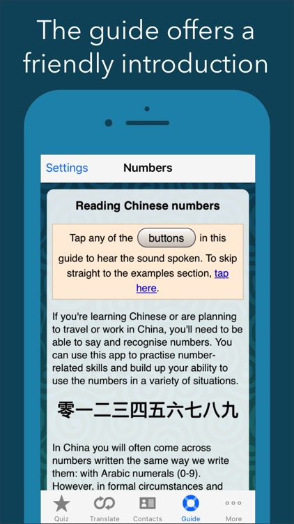 Chinese Number Trainer for Educators