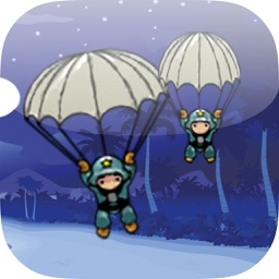 Save The Parachute Troops From Falling Down