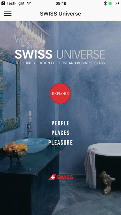Screenshot #1 pour SWISS Universe Luxury App