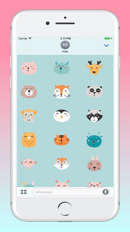 Funny Animals Sticker Pack