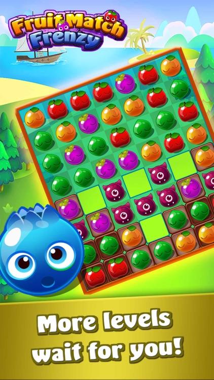 Fruit Match Frenzy-Fruit Crash screenshot-4