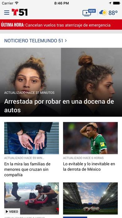 Telemundo 51 review screenshots