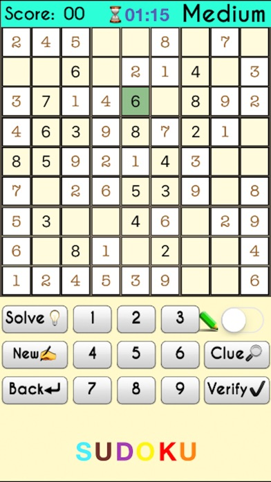 sudoku solver solve any sudoku instantly with ocr iphoneアプリ