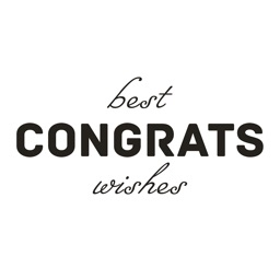 Congrats - Animated Congratulations Stickers