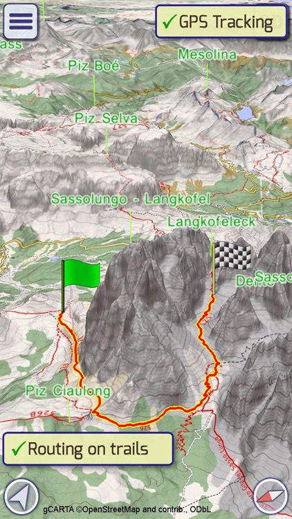 GeoFlyer Europe 3D Maps Lite screenshot-3