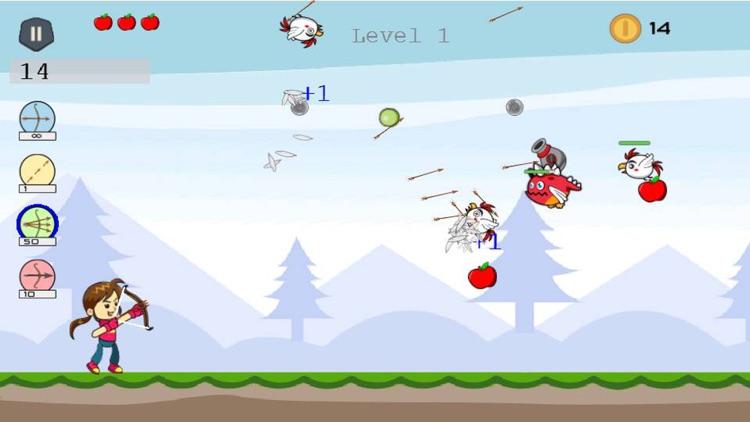 Shoot Girl's Fruits : Archery screenshot-3