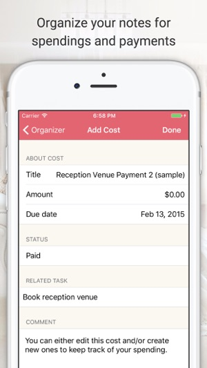 Wedding Planner App.Wedding Planner Ladymarry On The App Store