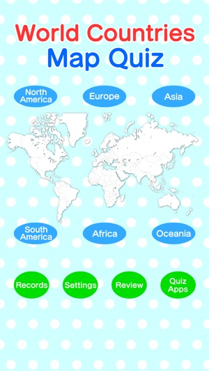 World countries map quiz on the app store gumiabroncs Image collections