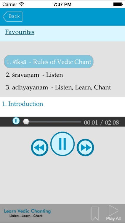 Learn Vedic Chanting screenshot-4