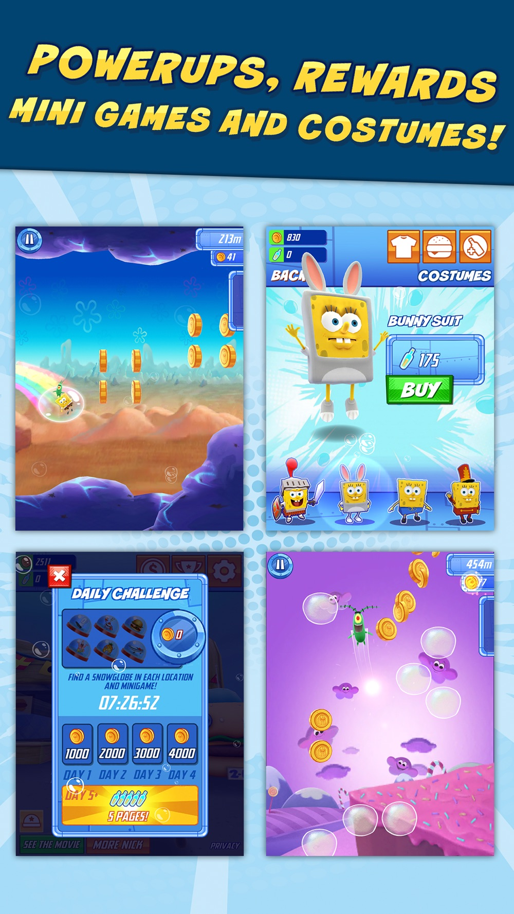 SpongeBob: Sponge on the Run hack tool