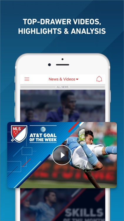MLS: Soccer Scores, News, Highlights & Watch Live app image