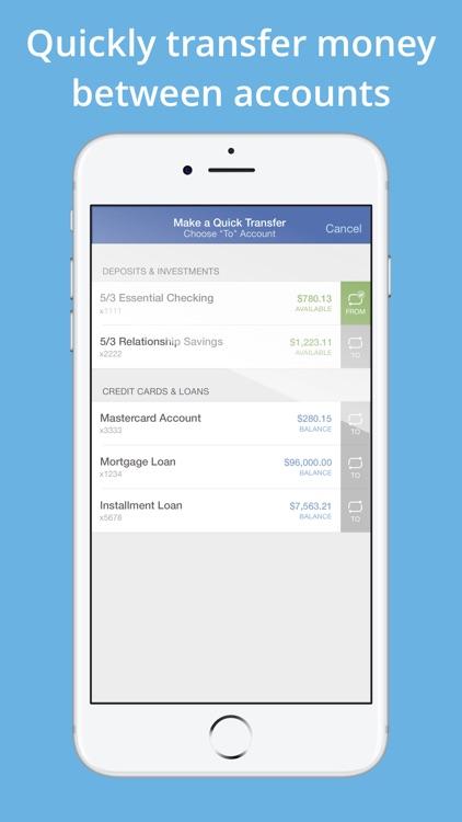 Fifth Third Mobile Banking screenshot-3
