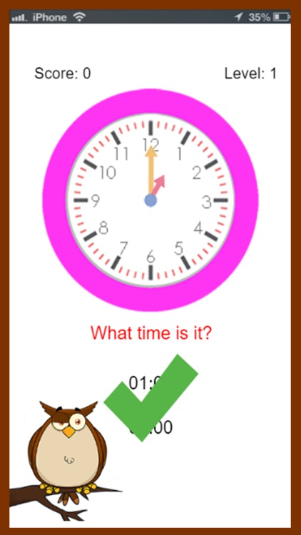 Learn To Tell Time For Kids screenshot-3