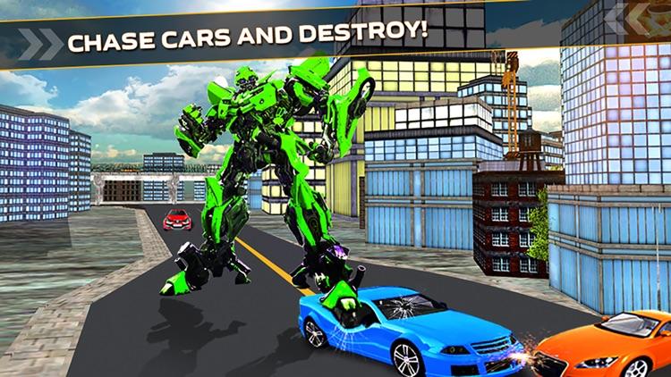Futuristic Robot Car Simulator
