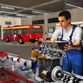 Big Bus Mechanic Simulator: Repair Engine Overhaul