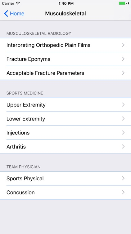 Pocket Physical Medicine & Rehabilitation screenshot-3