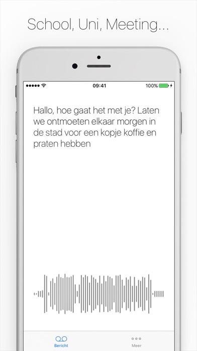 Screenshot for Textify - Luister niet.. Lees! in Netherlands App Store
