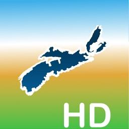 Aqua Map Nova Scotia NS Lakes HD - Nautical Charts